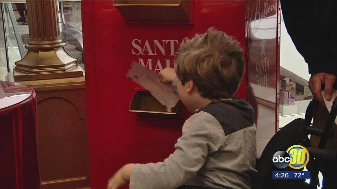 Some Valley kids got to make a special wish to Santa at a Fresno Macys
