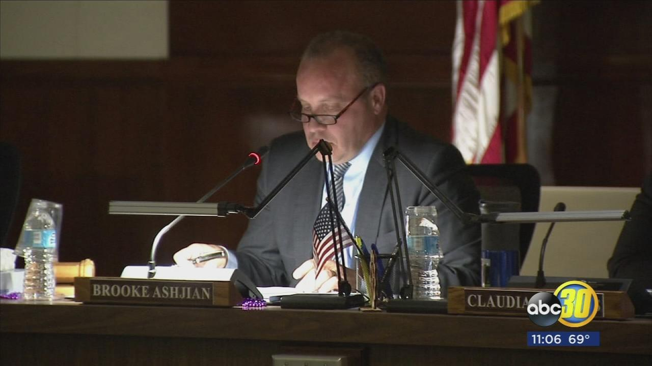 Fresno Unified Board President still under fire for comments made about sex education