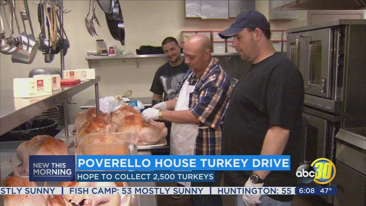 Poverello House kicks off annual Turkey Drive