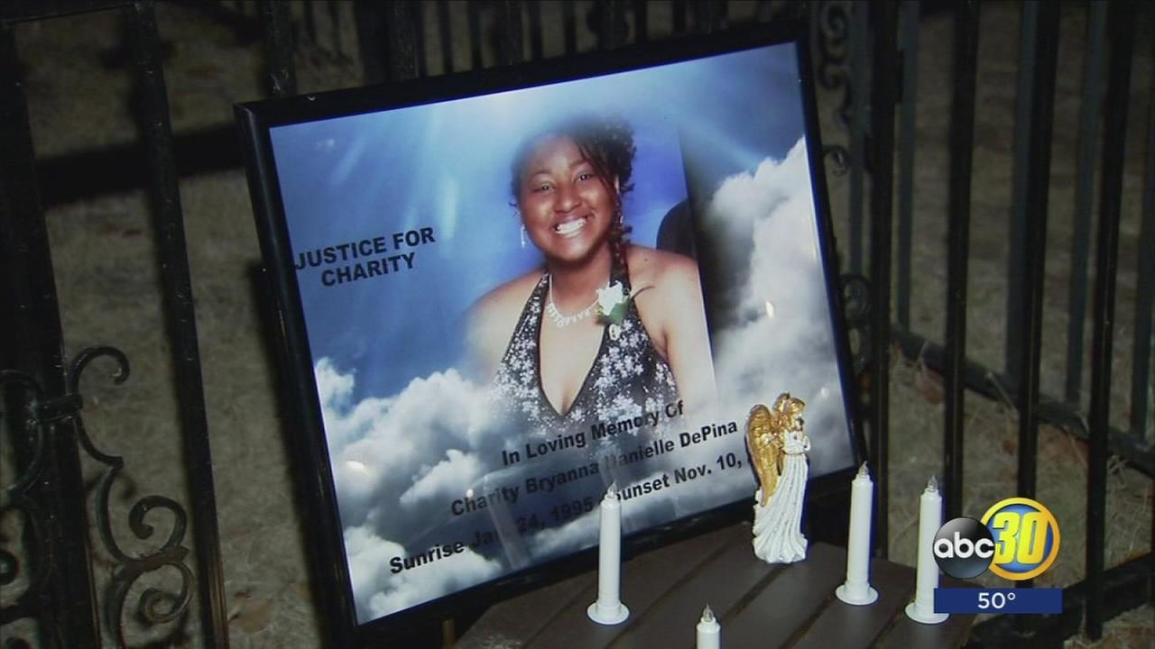 Candle light vigil held 22-year-old Charity Depina