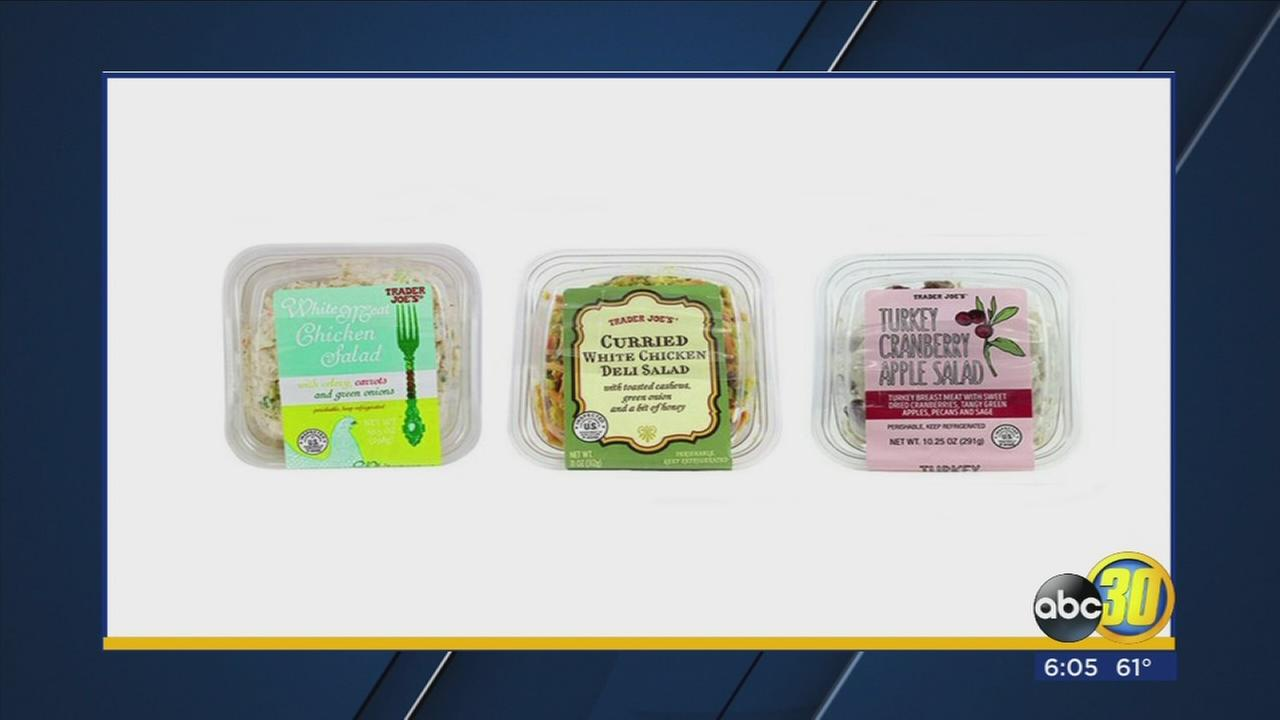 Trader Joes recalls several of its packaged salads