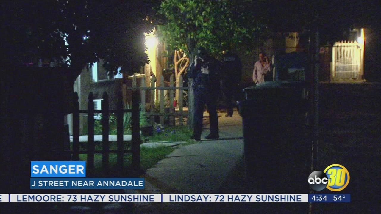Drunken argument in Sanger ends on gun fire with one person injured, police search for shooter