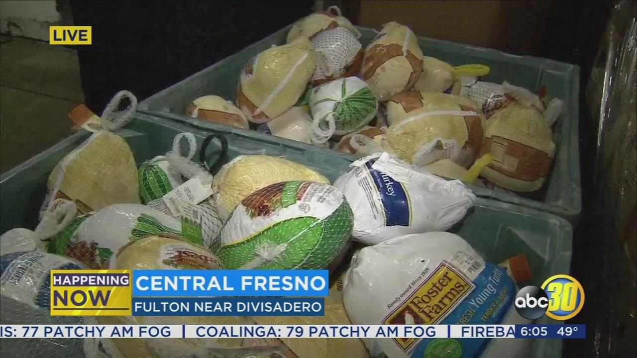Catholic Charities in Central Fresno gives the gift of the holidays to families in need