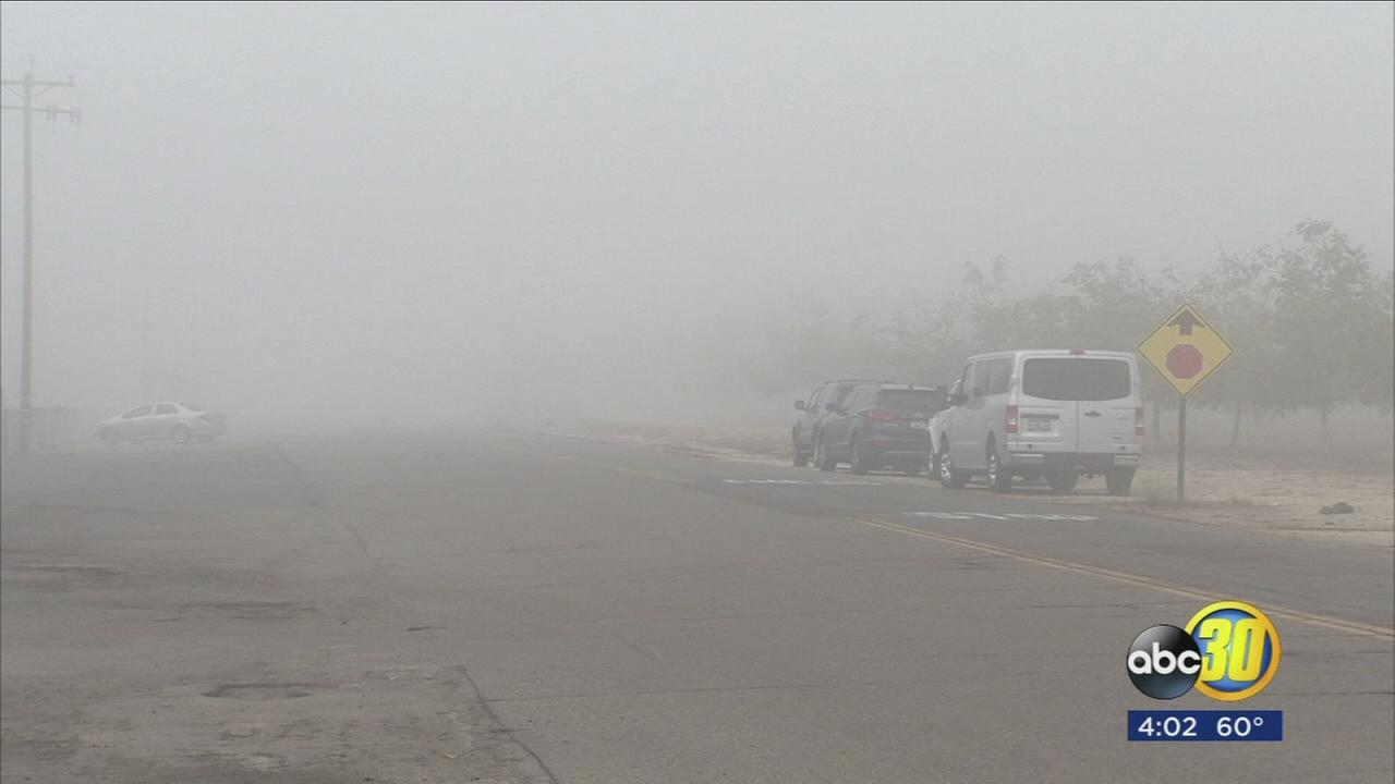 Low visibility caused Valley schools to see many absences