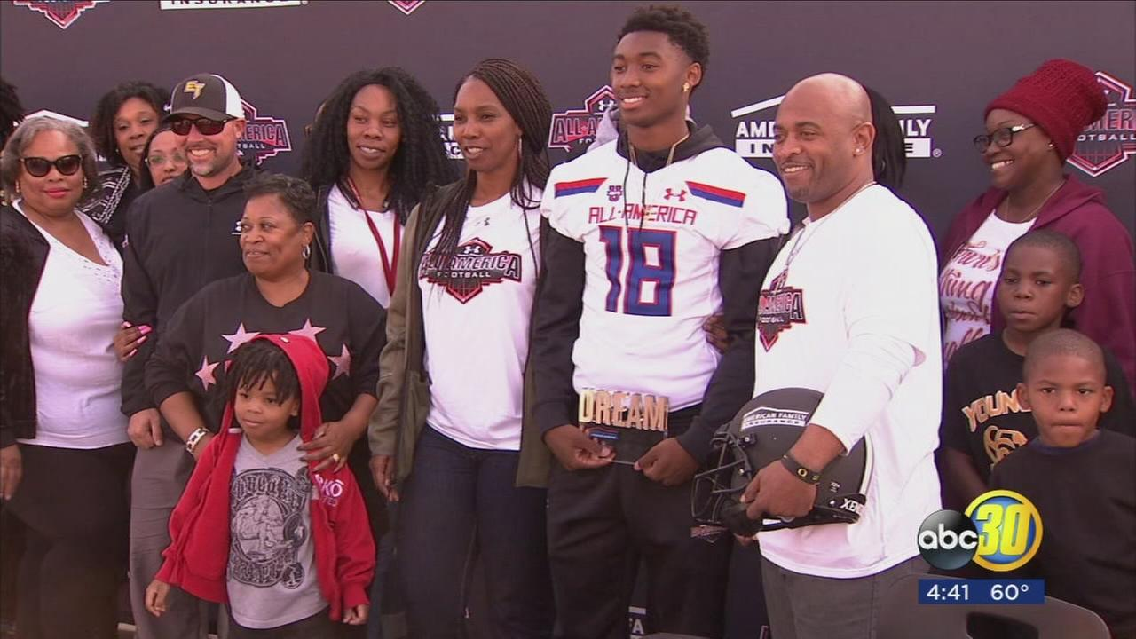 Edison High School standout weeks away from representing Central Valley in national football game