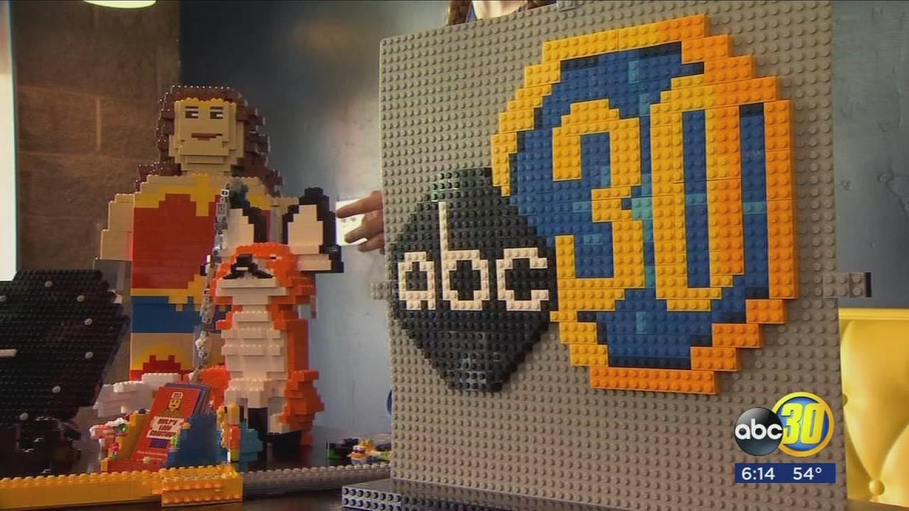 Hanford teen using Legos to build a business