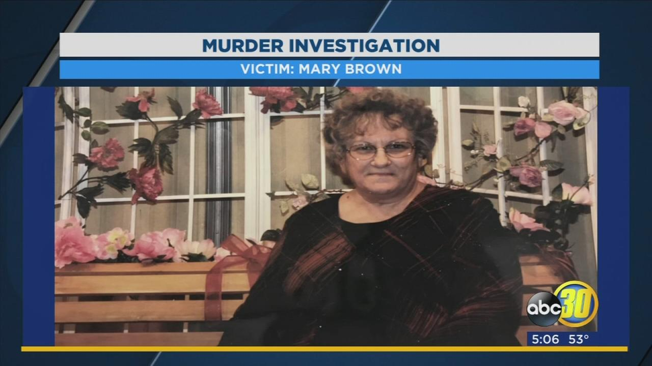Murder investigation of Mary Brown