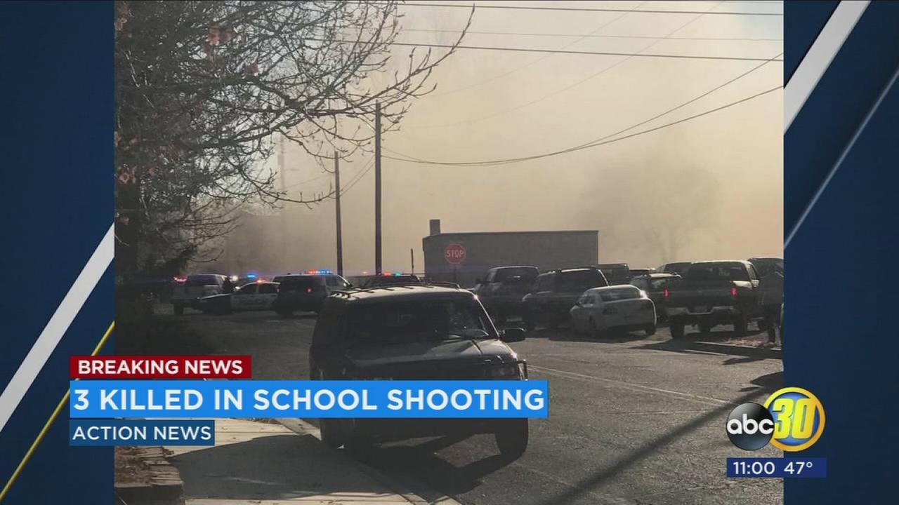 New Mexico school shooting leaves 2 students, suspect dead