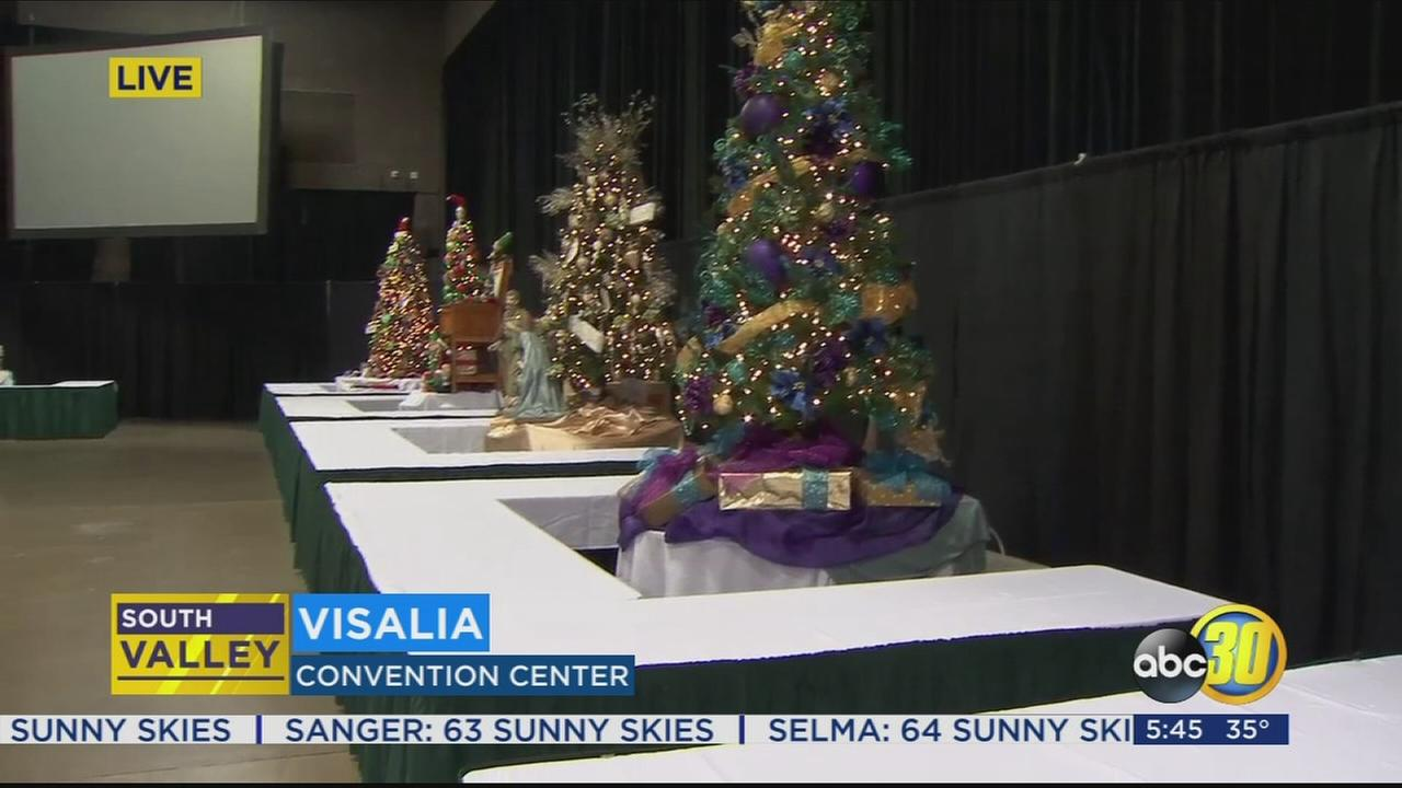 Visalia Christmas Tree Auction: A Tradition Of Giving With