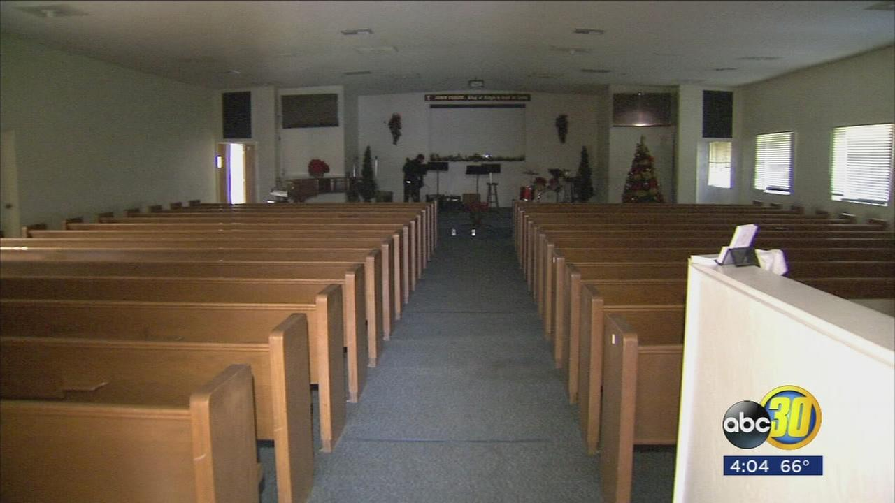 Electrical fire threatens Church in Central Fresno