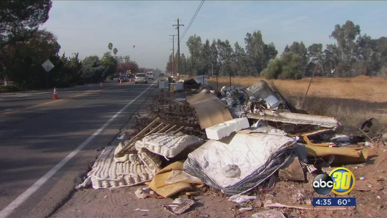 Fresno County cracks down on illegal dumping