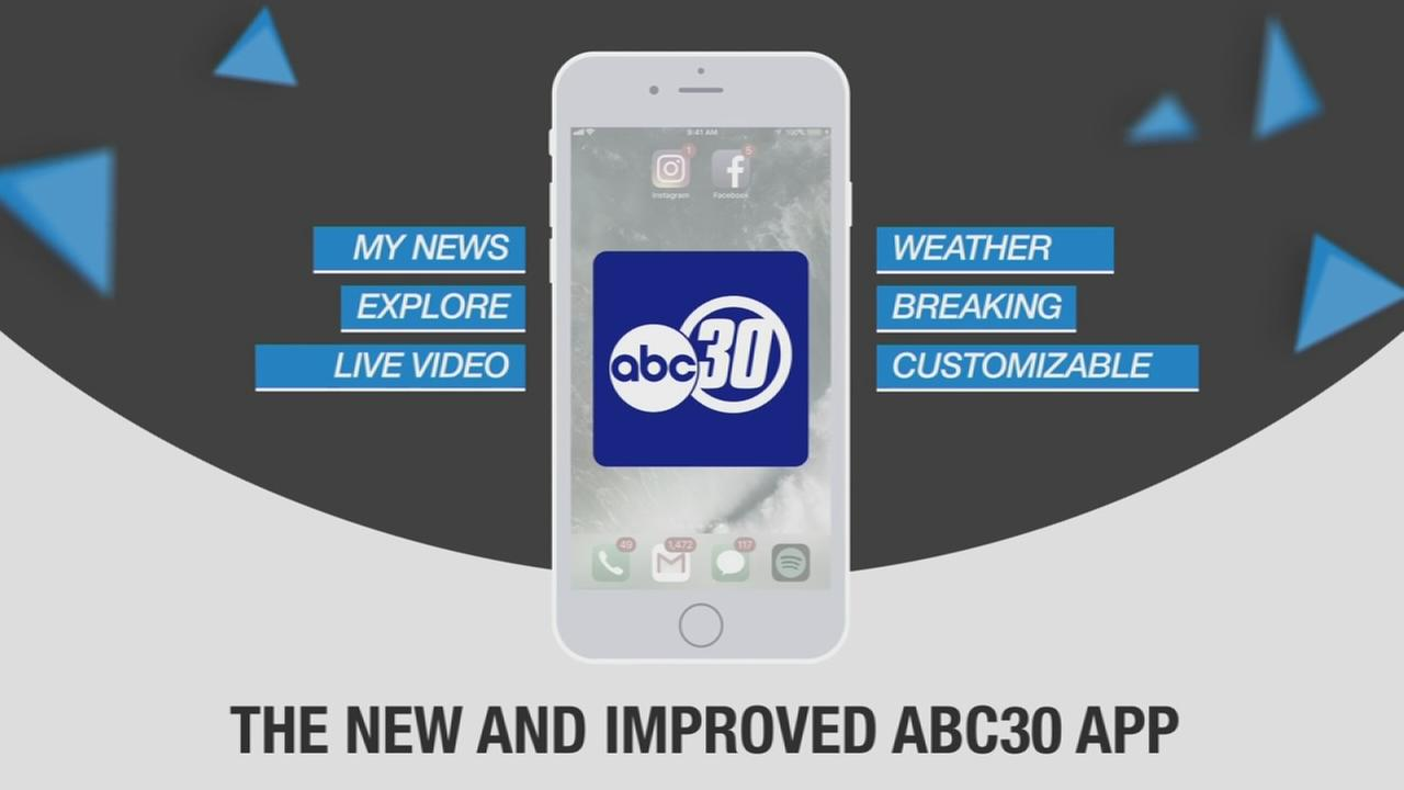 Check Out Our New ABC30 App