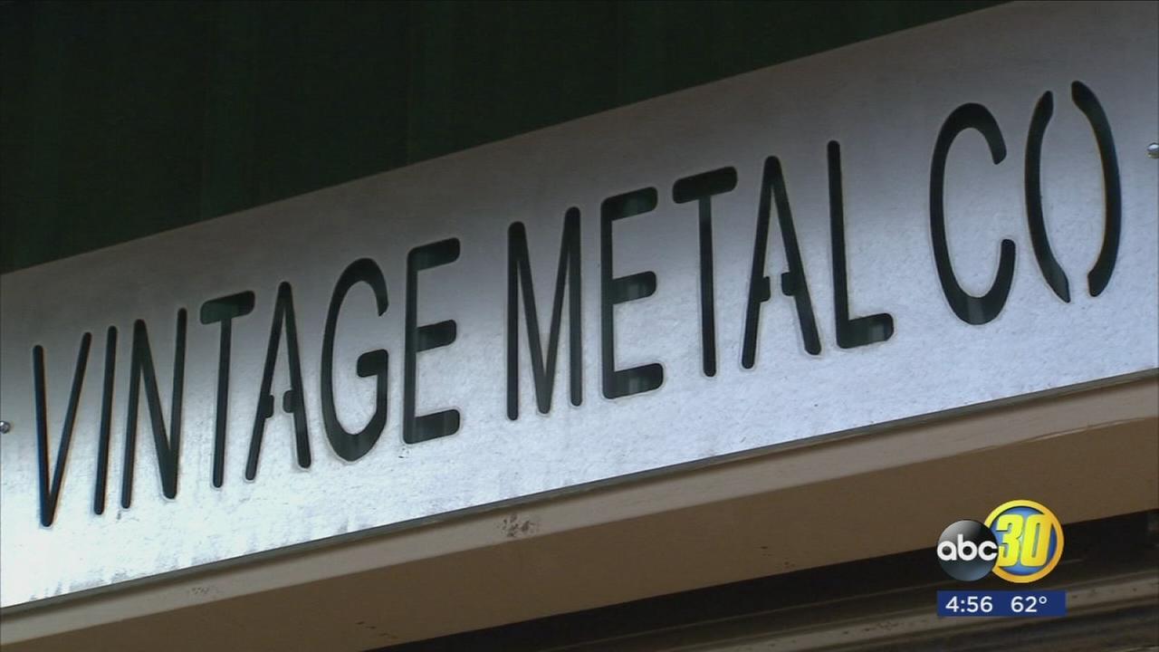 Visalia couple creates handcrafted memories with metal