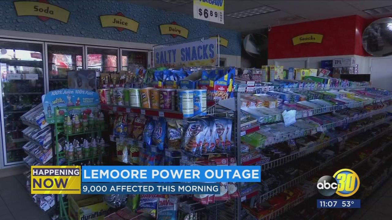 Power restored in Lemoore after substation outage, PG&E says