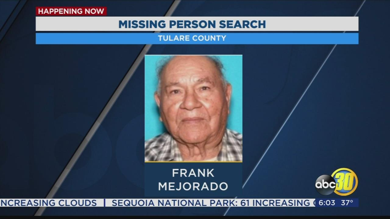 Authorities in Tulare County searching for missing 84-year-old man