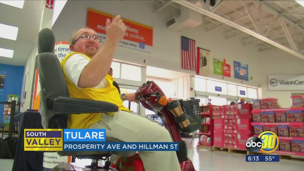 Popular Tulare Walmart greeter retiring after 18 years