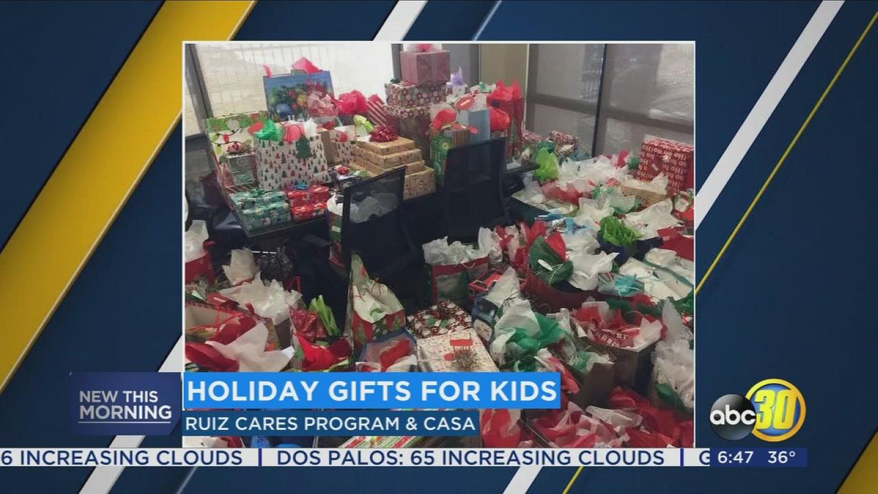 Thanks to local business 200 children will have a merry Christmas