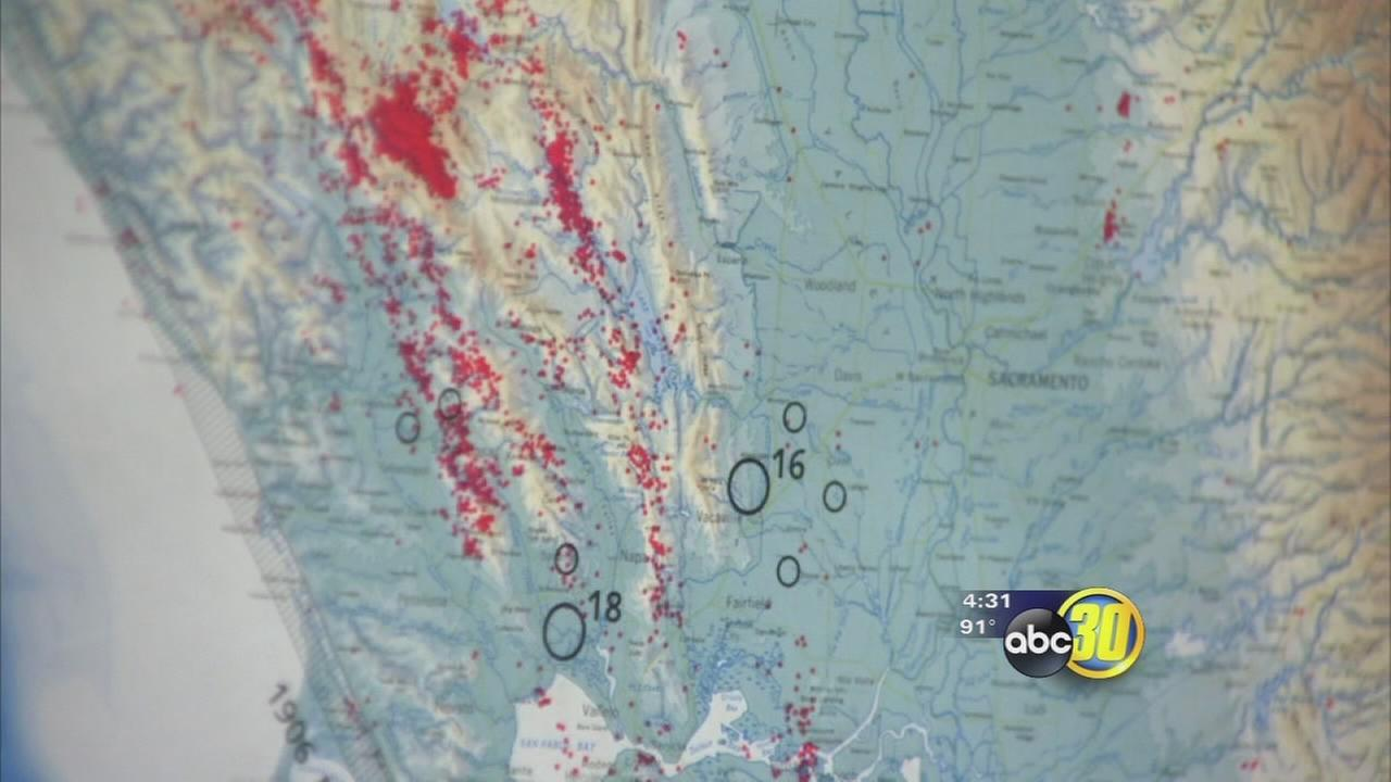 Which fault is at fault for South Napa Earthquake?