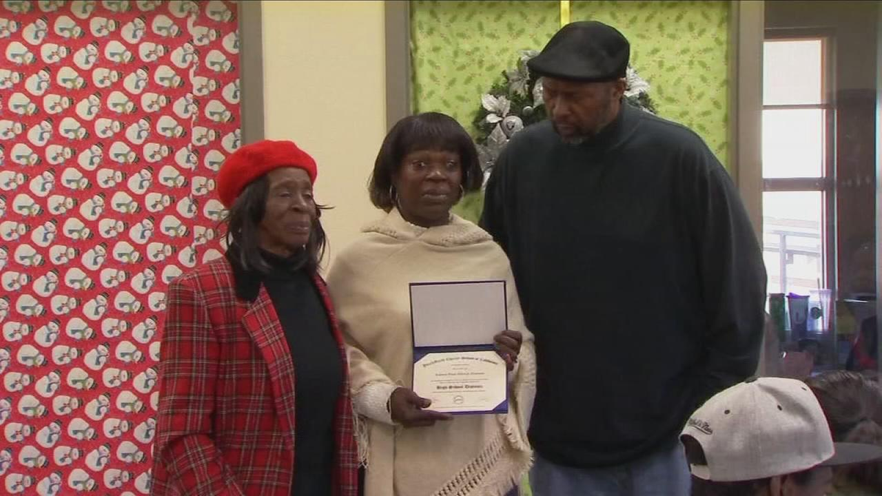 Family honors their son after being killed in drive by shooting