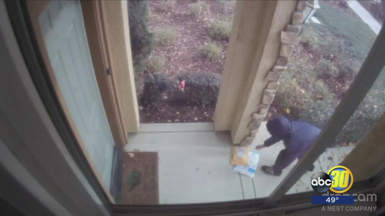Porch pirate foiled on Christmas Eve