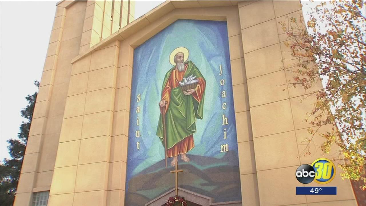 Madera church unveils new mosaic after being destroyed