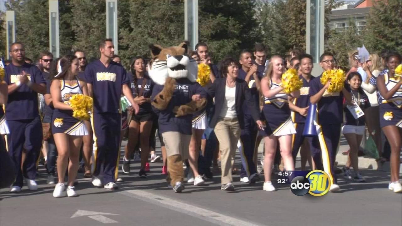 UCM students kick off school year with unique tradition