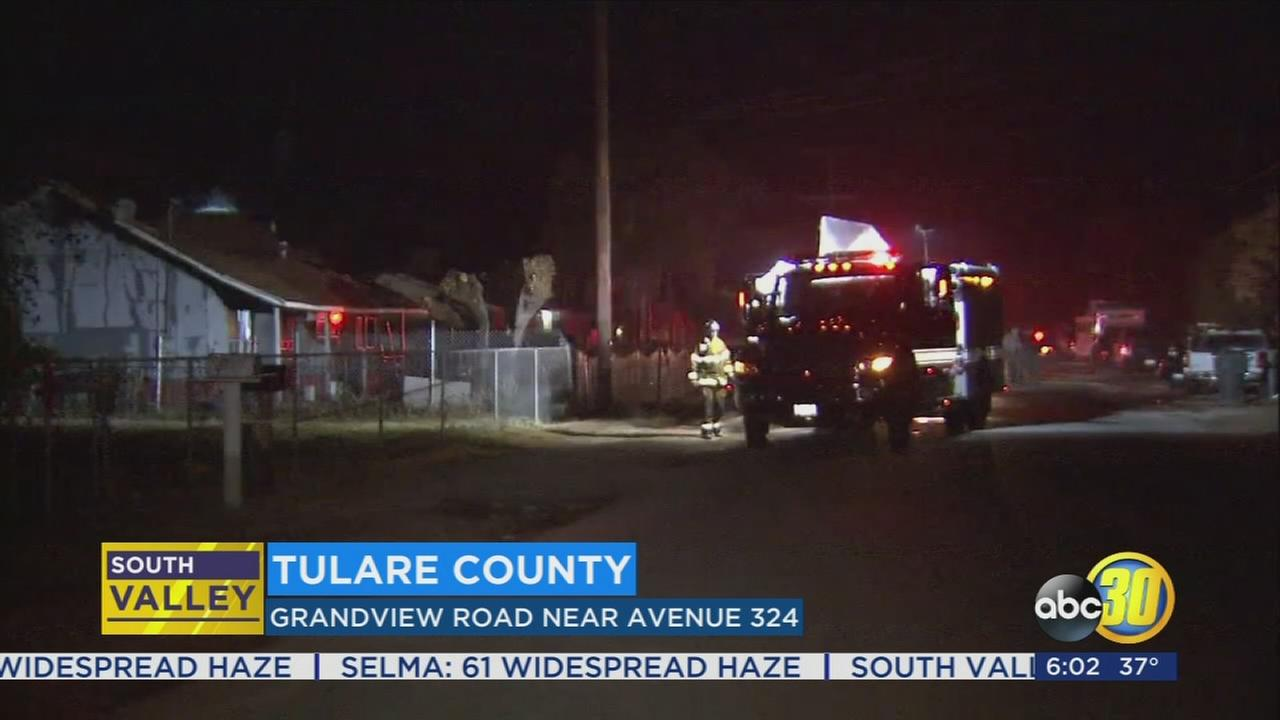 Man found dead after standoff with SWAT officers in Tulare County