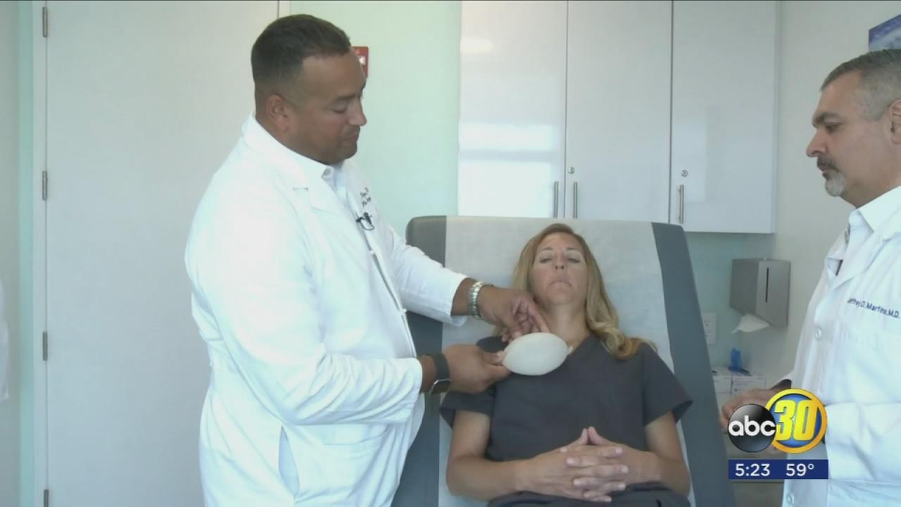 New technology making re-construction surgery easier on breast cancer patients