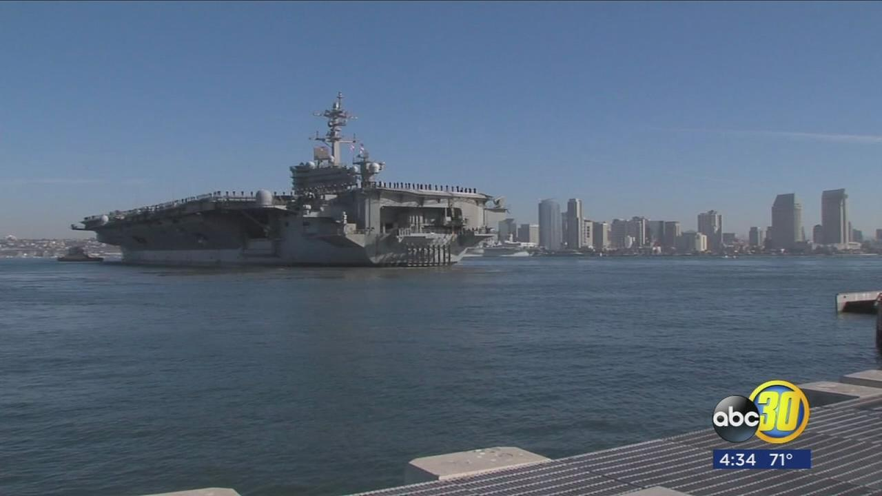Carl Vinson Strike Group deploys to Western Pacific