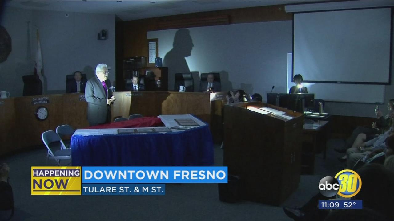 Darkness envelopes Fresno County Board of Supervisors meeting