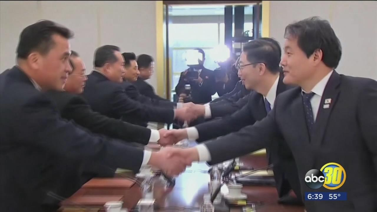 North and South Korea held high-level talks that resulted in a deal