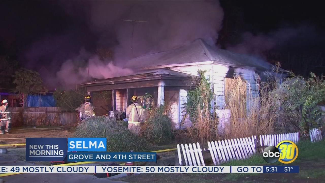 Selma home catches fire for second time in months