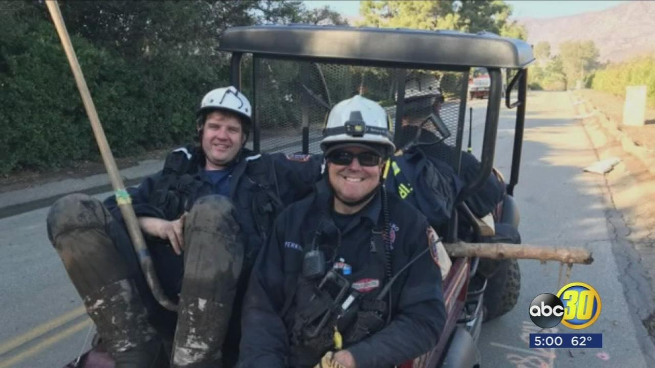 Valley search and rescue teams fighting with time in desperate search for mudslide survivors