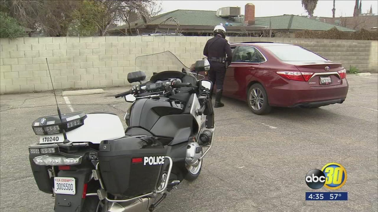 Fresno PD increase presence in effort to stop traffic fatalities