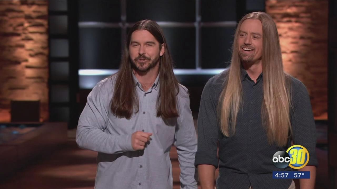 Fresno State grads use their locks as bait in Shark Tank
