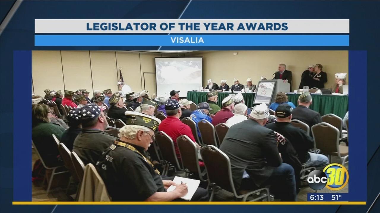 California Assemblymembers receive Legislator of the Year Award
