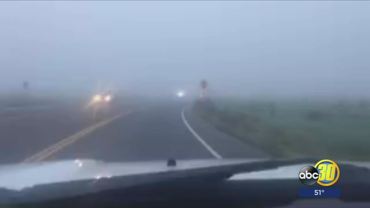 Adverse effects of fog are not limited to morning commute