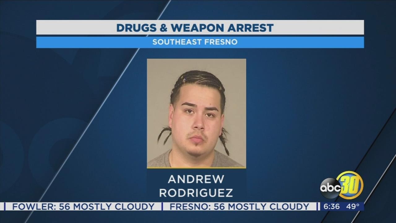 Sanger man arrested after police find large amount of drugs in his car
