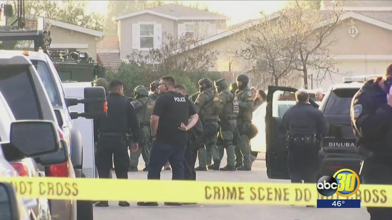Man arrested following hours long stand-off in Dinuba