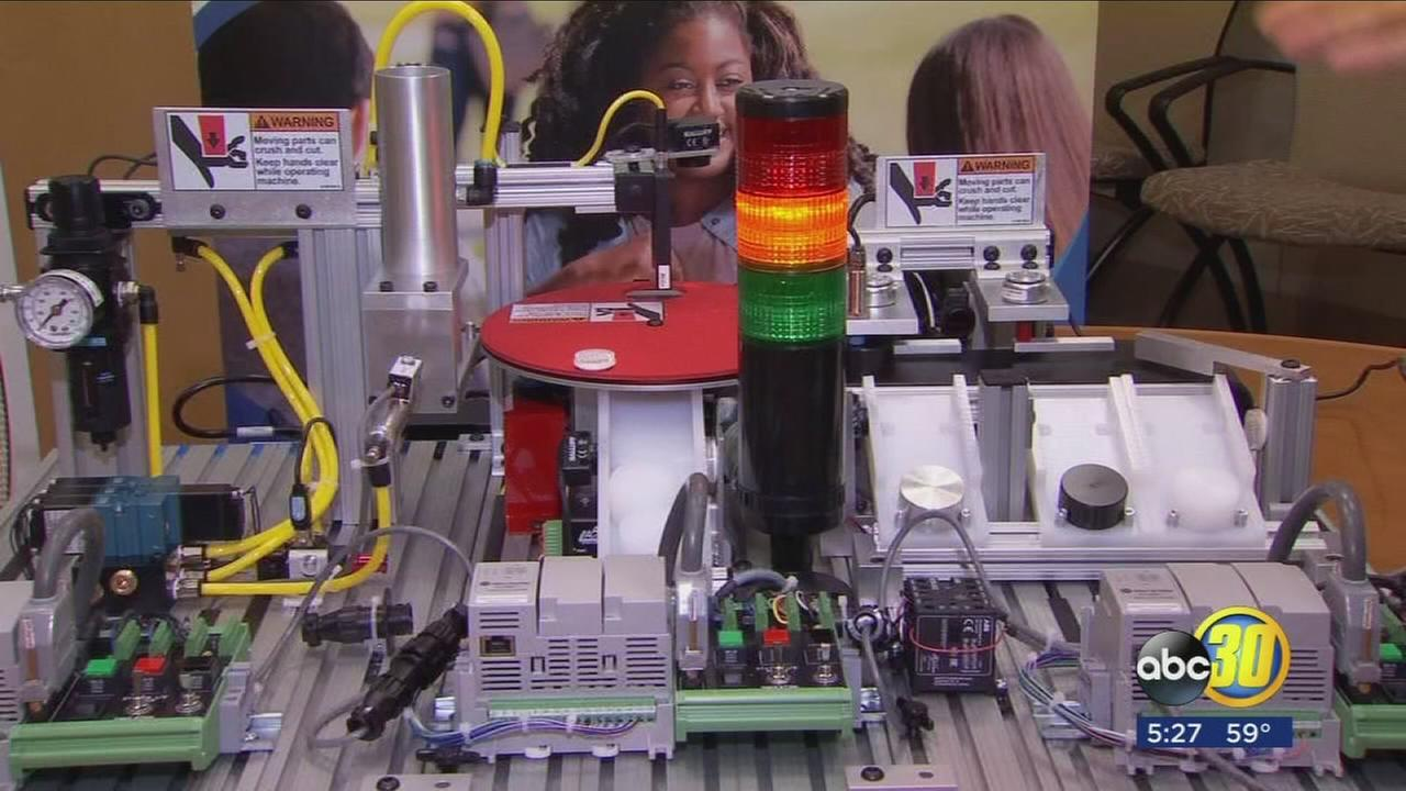 Clovis Community College offers new mechatronics, industrial automation courses