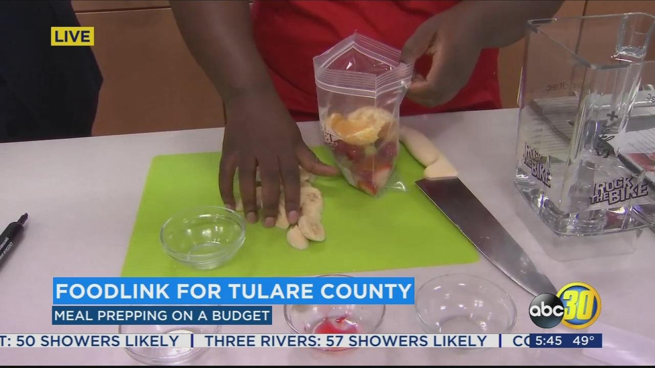 Tulare County food bank teaching people how to prepare healthy meals