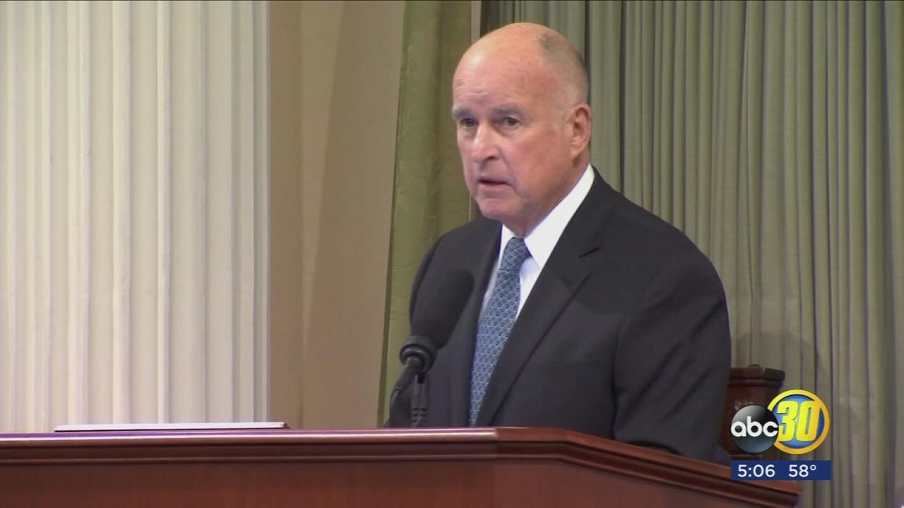 Gov. Jerry Brown lays out vision for California in final State of the State address