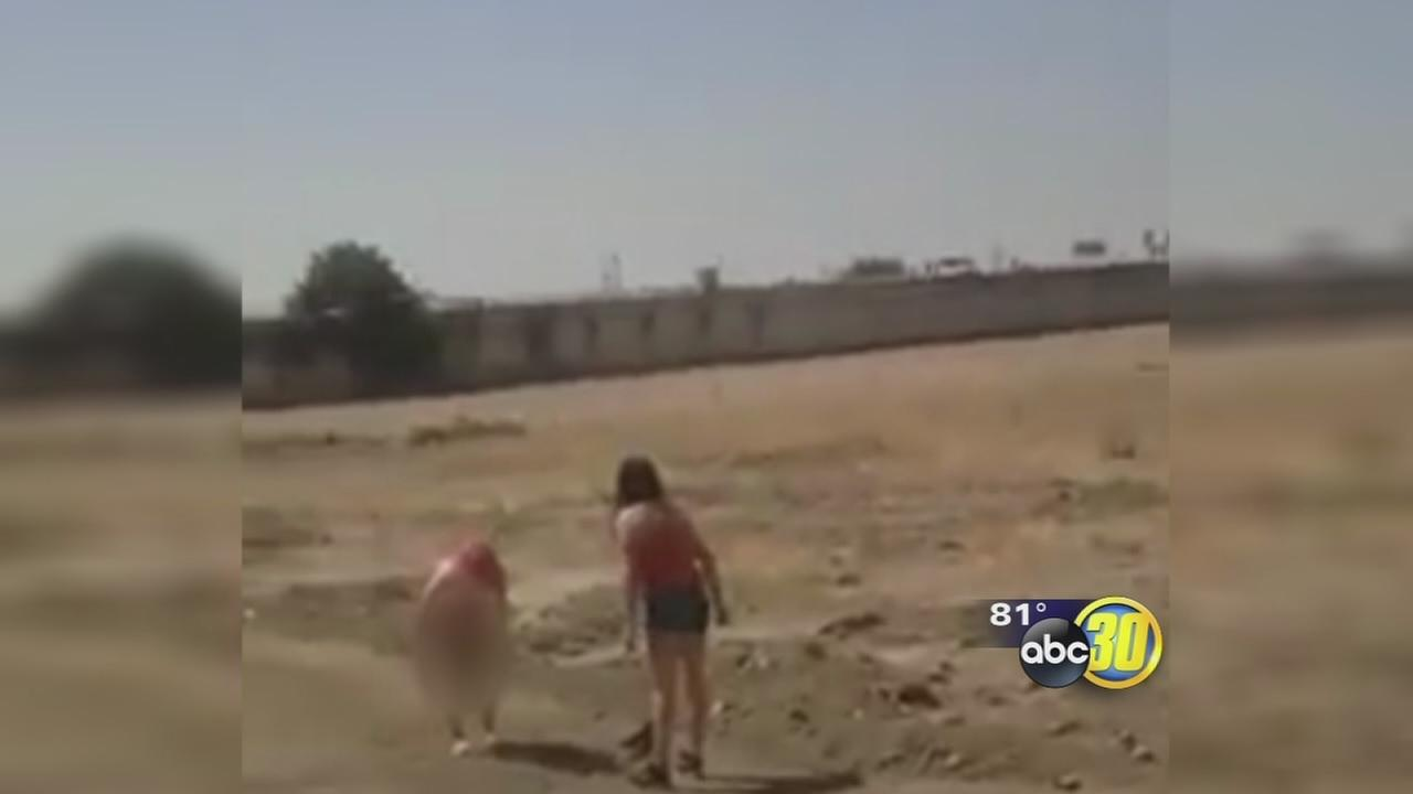 Video: Woman stripped and assaulted in Central Fresno