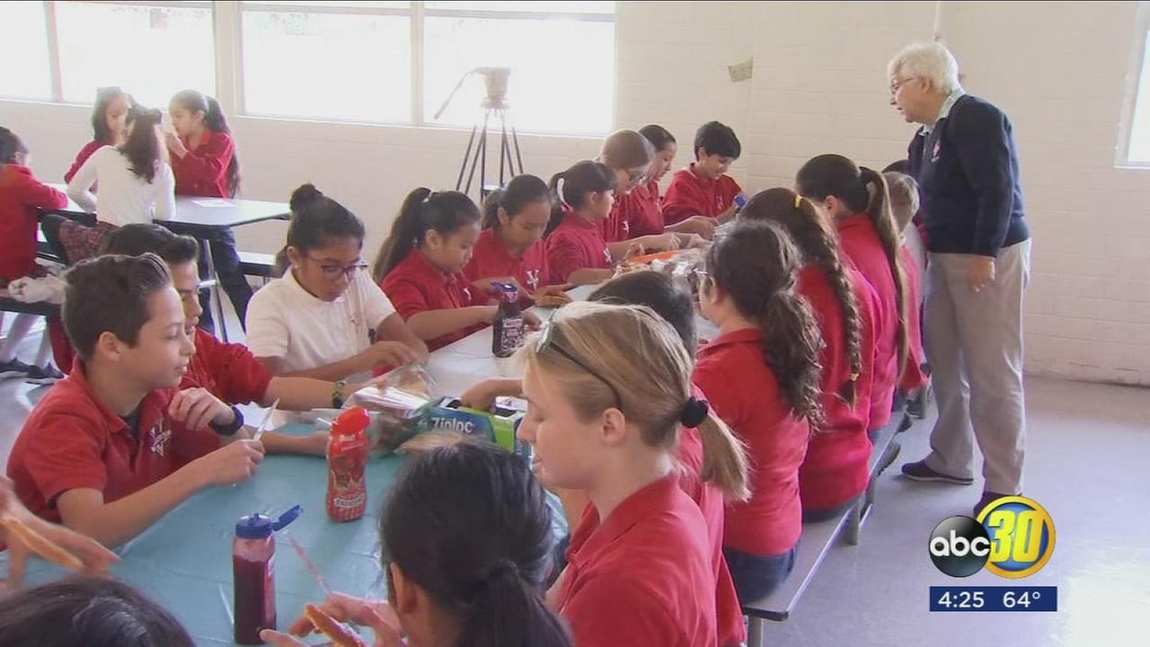 Students at Our Lady of Victory School give back to the community