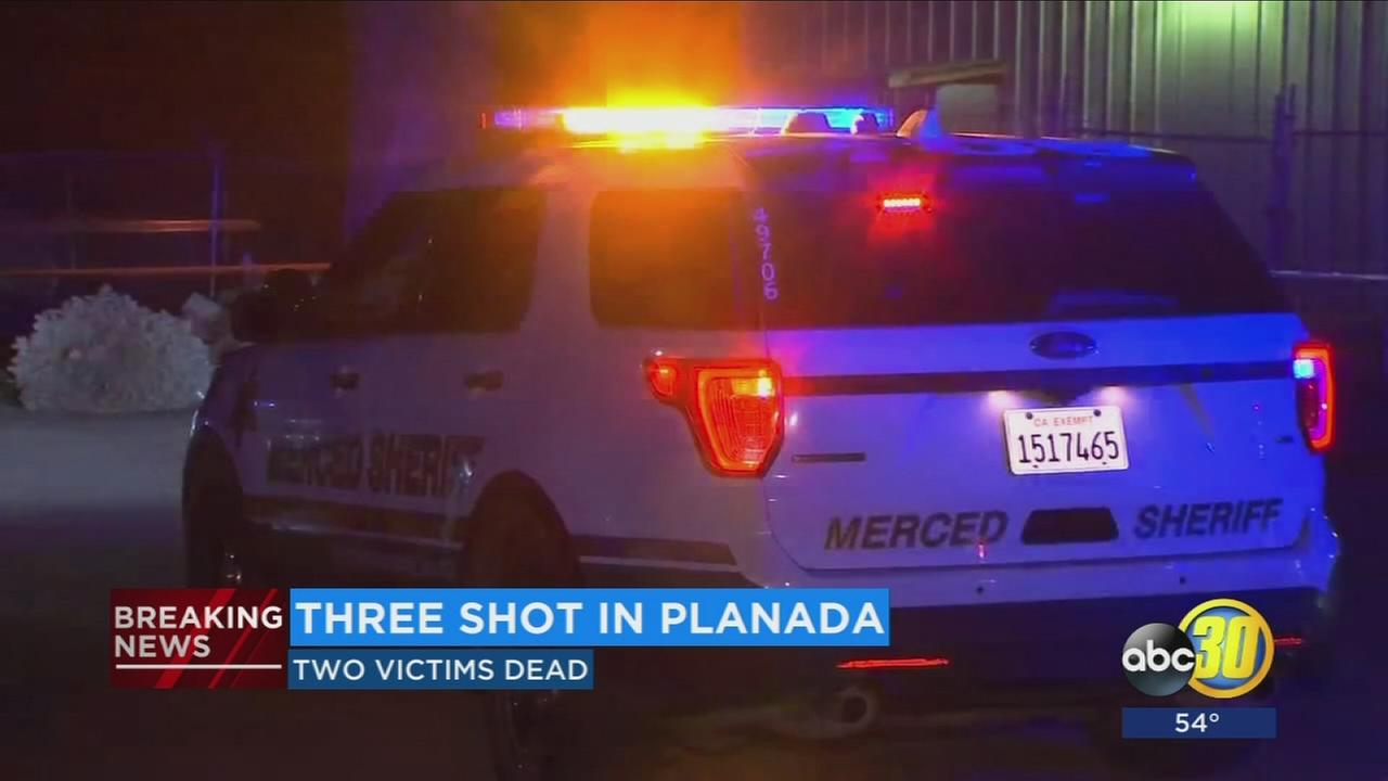 2 dead, 1 in critical condition after shooting outside market in Planada, deputies say