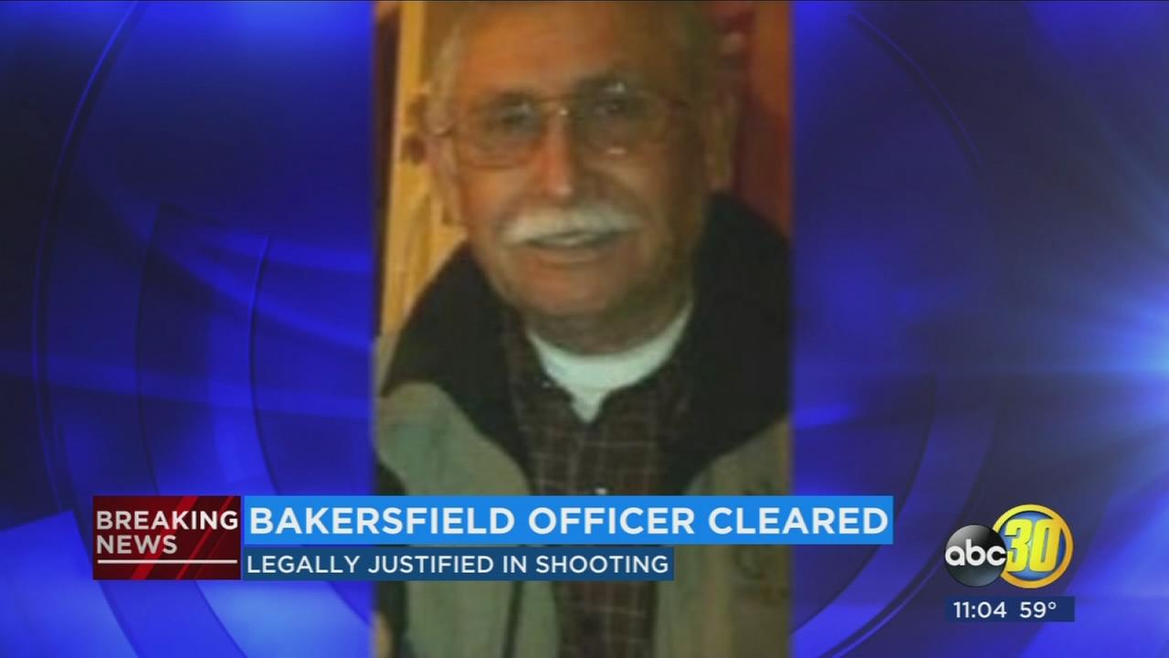 Bakersfield officer who shot and killed 73-year-old man found legally justified using deadly force