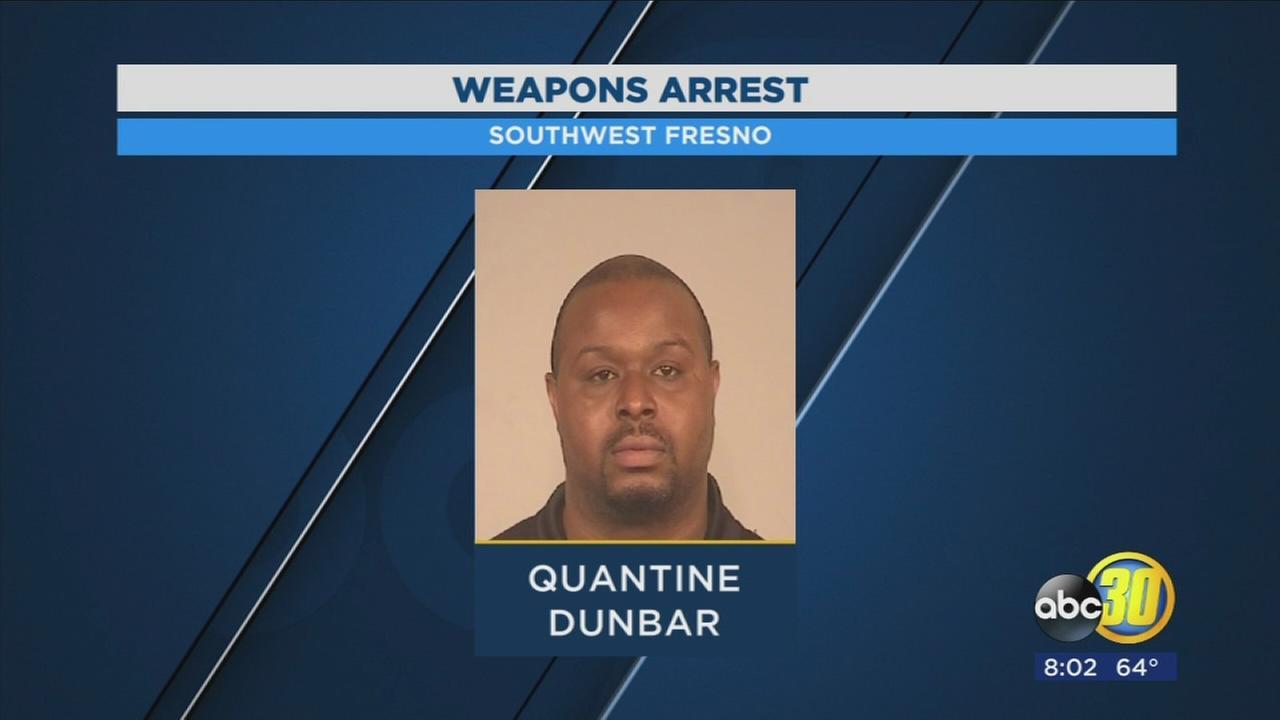 Police arrest of gang member in Southwest Fresno