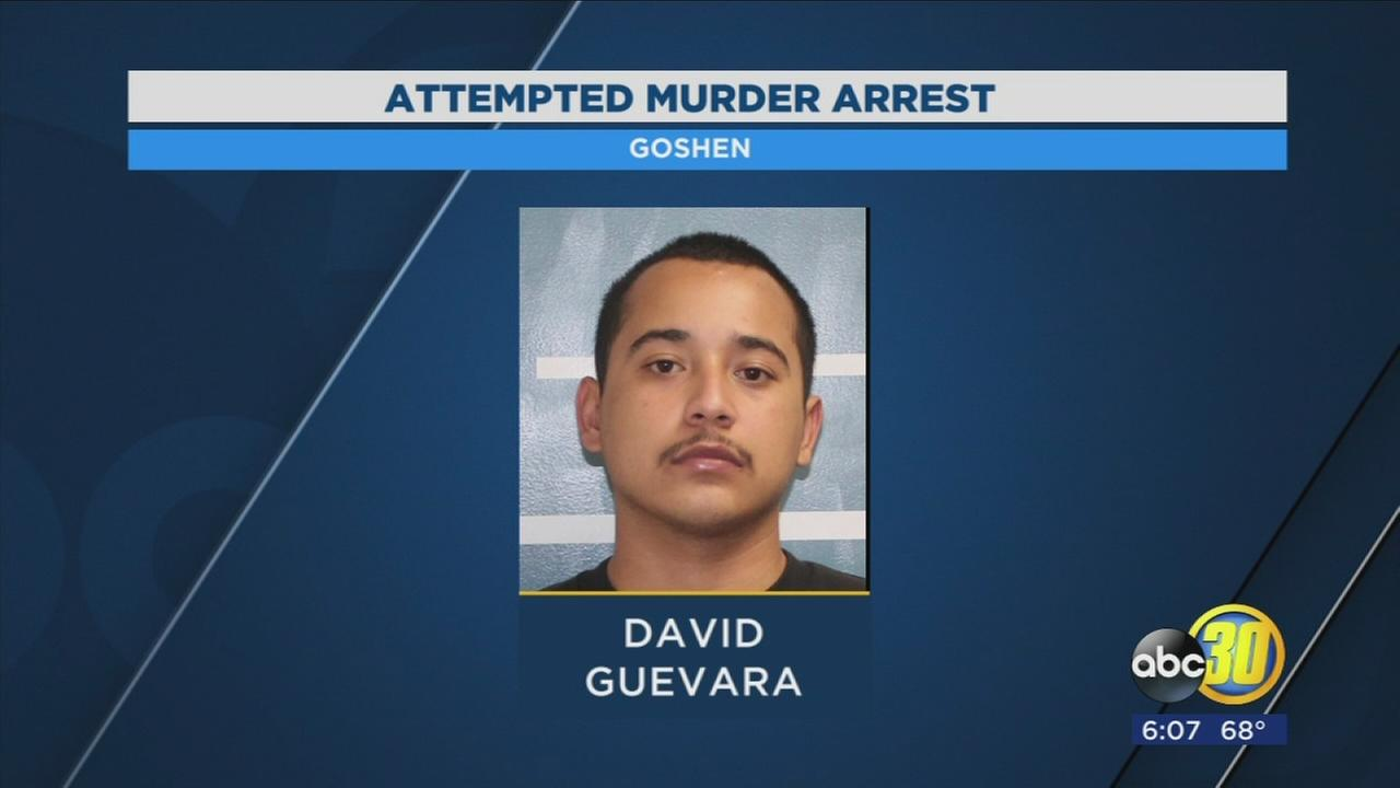 Arrest made in connection to a shooting in Goshen