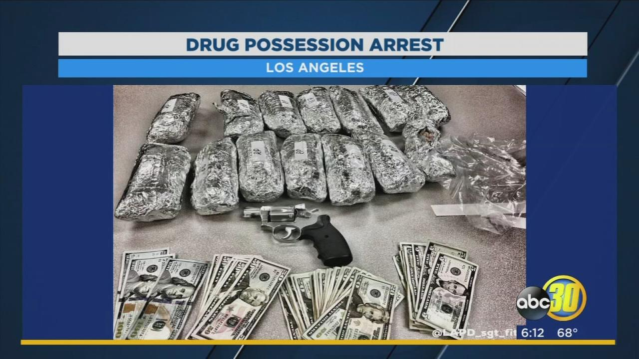 LAPD seizes meth burritos from driver