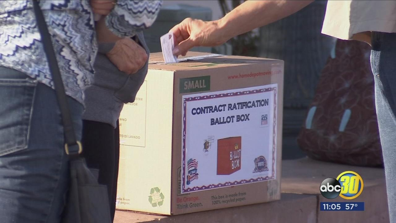 Despite agreement FTA and Fresno Unified vote on new contract